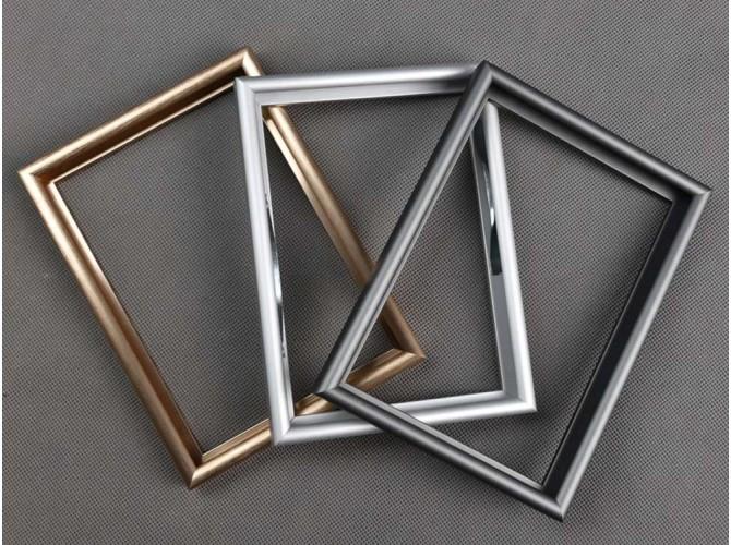 Алюминиевые  анодированные.