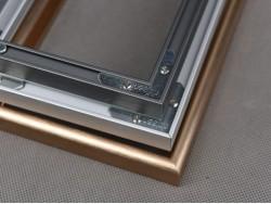 Алюминиевые рамки с анодированным покрытием.