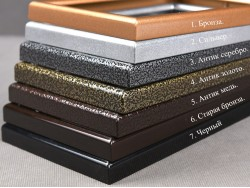 Алюминиевые рамки с двойным полимерным покрытием.