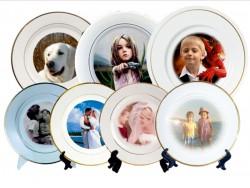 Фото на тарелку