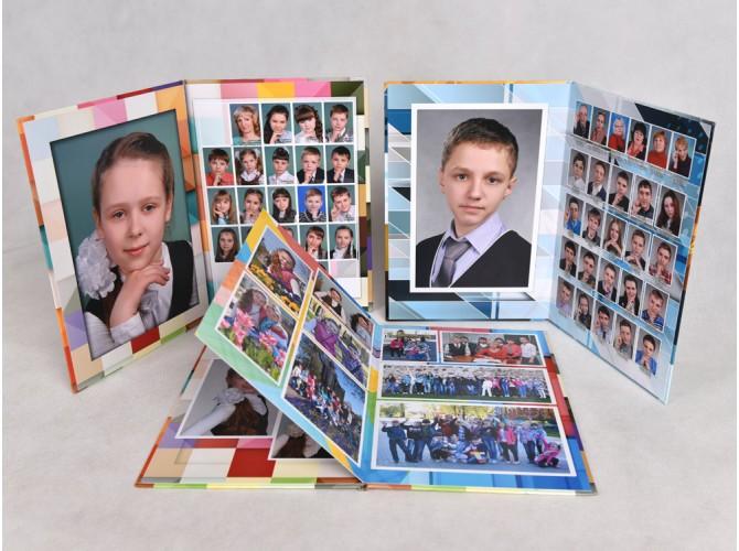 Альбом фотокнига школа